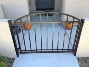 ARCHED IRON GATE
