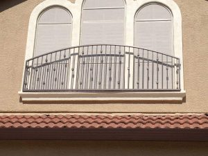 ARCHED WINDOW IRON