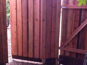 WOOD GATES BOARD ON BOARD WITH KICKBOARD